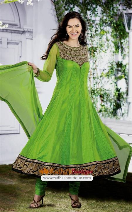 anarkali chudidar dress design patterns