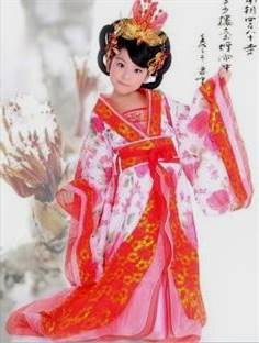 ancient chinese clothing for children