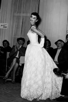 audrey hepburn wedding dress sabrina