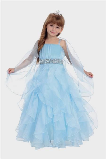 baby flower girl dresses blue