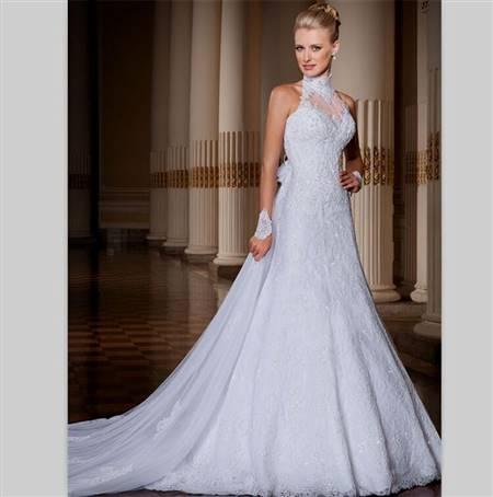 backless halter wedding dresses