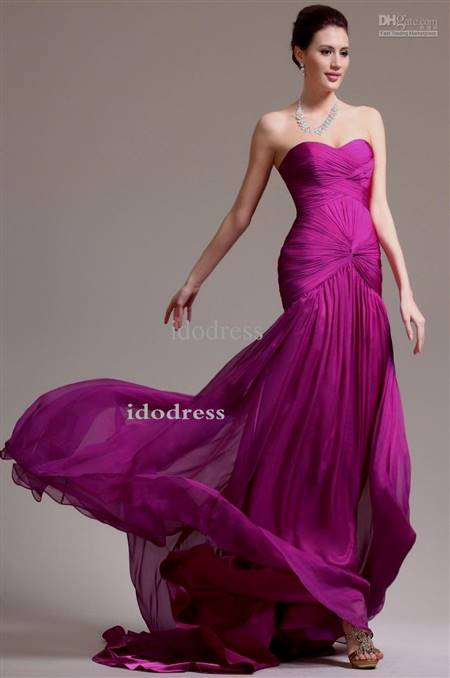 ball gown prom dresses purple