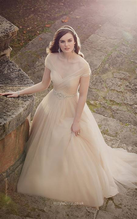 ball gown wedding dress with sleeves