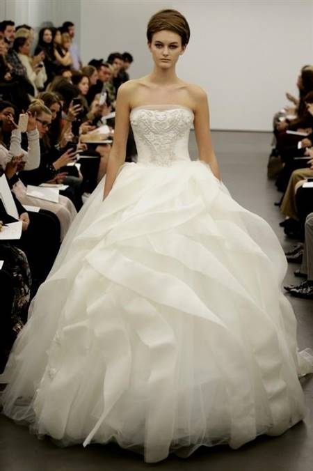ball gown wedding dresses vera wang