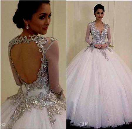 ball gown wedding dresses with bling