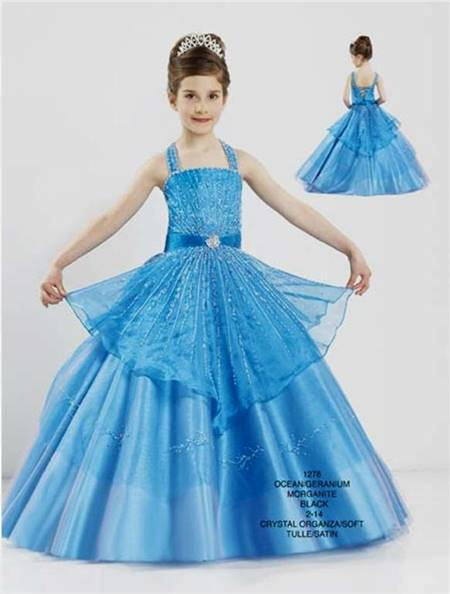 ball gowns for teenagers blue