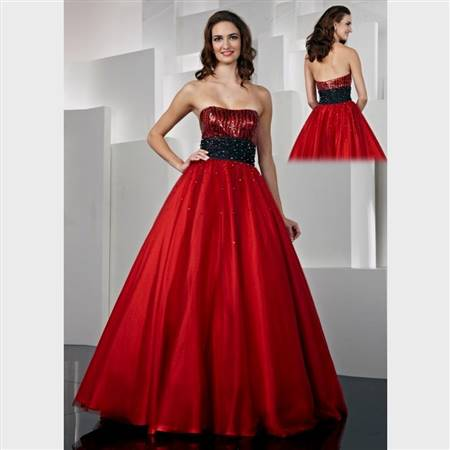 ball gowns for teenagers red