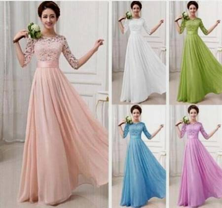 beautiful cocktail dresses with sleeves for teens