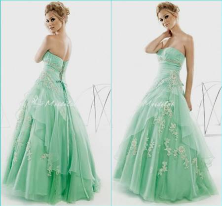 beautiful green gowns