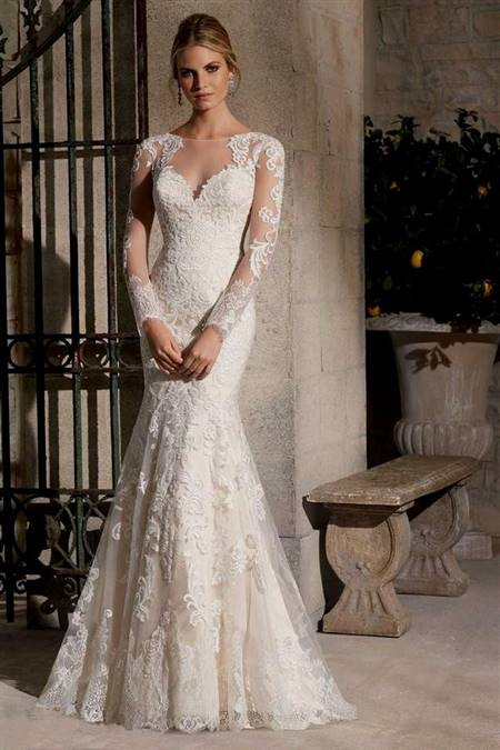 beautiful lace wedding dresses