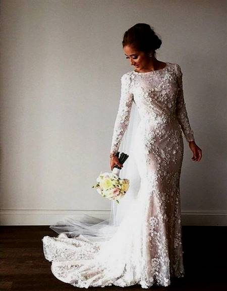 beautiful lace wedding dresses with sleeves