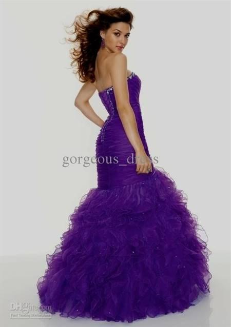 beautiful light purple prom dresses