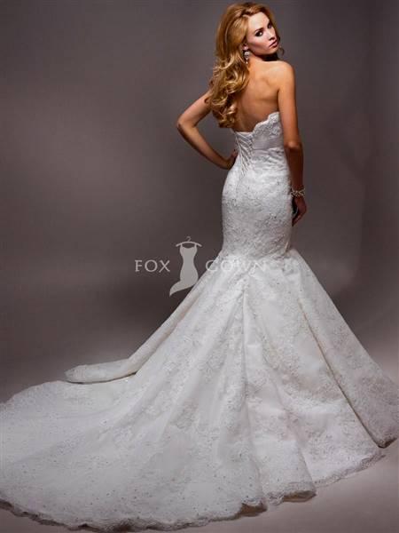 beautiful mermaid wedding dresses