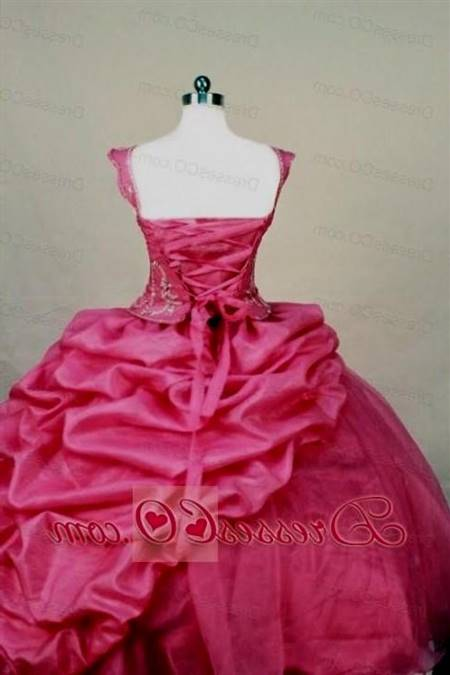 beautiful pink dresses for teenage girls