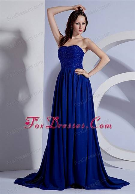 beautiful royal blue gowns