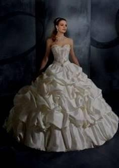 belle wedding dress