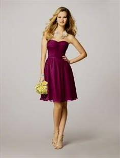 berry bridesmaid dresses