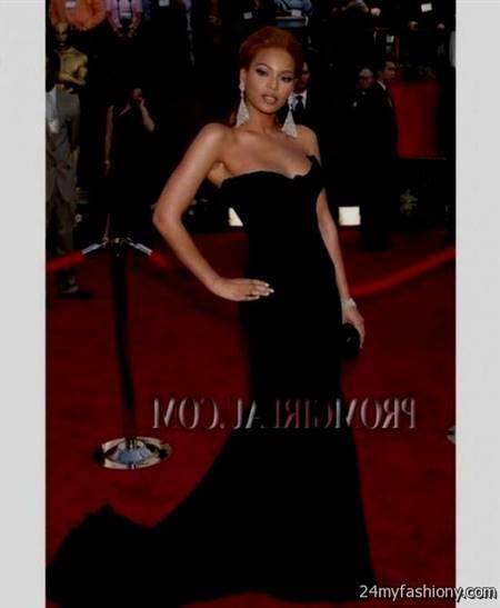 beyonce black red carpet dresses