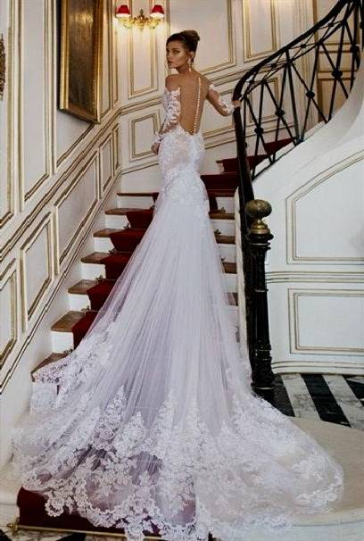 black and purple lace wedding dresses