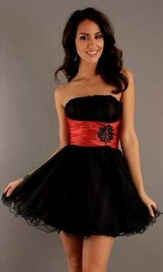 black and red dresses