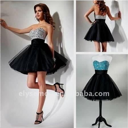 black and white prom dresses under 100