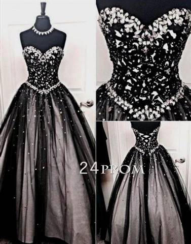 black ball gowns tumblr