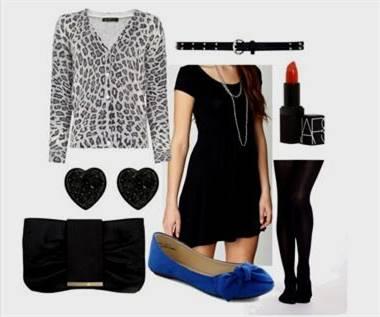 black dress outfit ideas