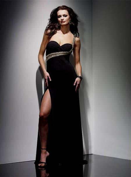black night dresses
