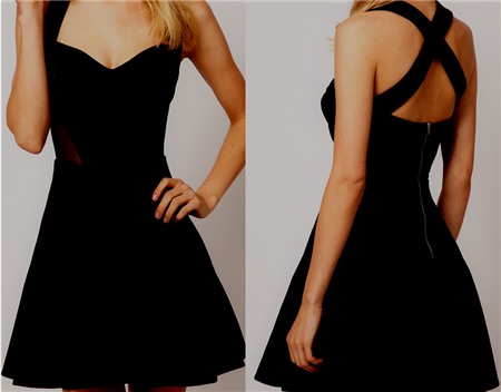 Tumblr Girl Party Dress