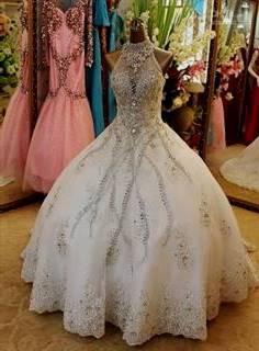 Bling Ball Gown Wedding Dresses B2b Fashion