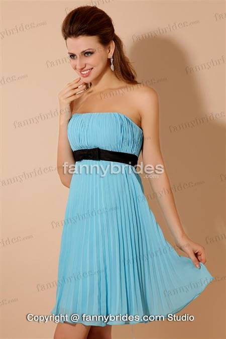 blue casual dresses for juniors