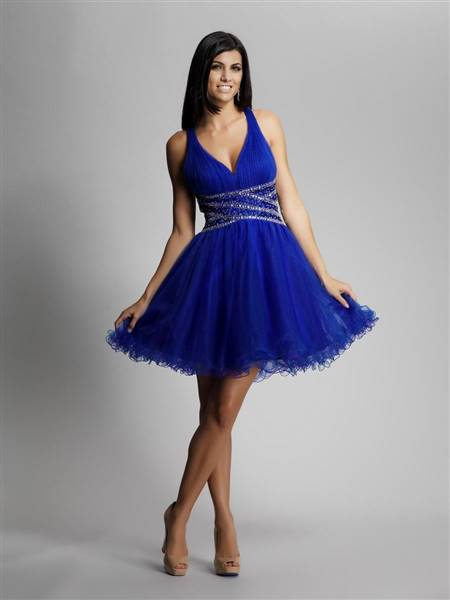 blue dresses for teenagers party