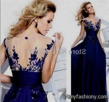 blue lace prom dress tumblr