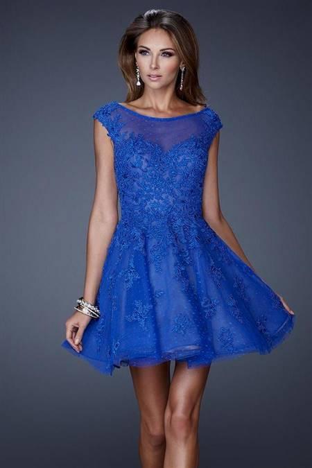 blue party dresses for juniors