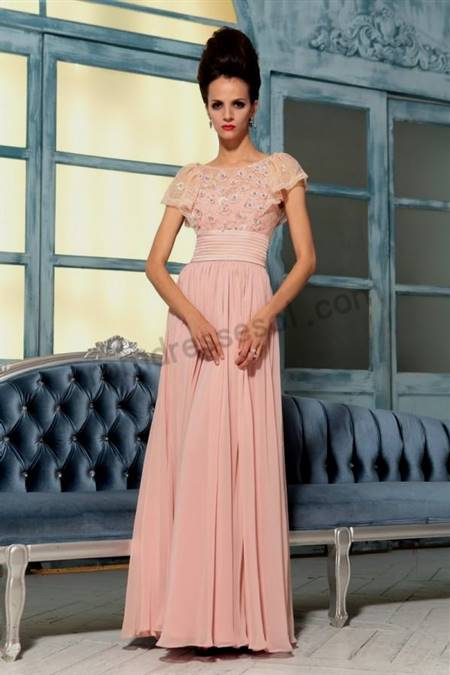 bridesmaid dresses with lace sleeves