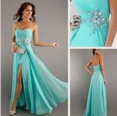 bright turquoise bridesmaid dresses