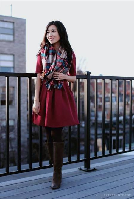 casual red dress for juniors