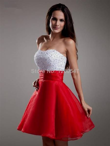 casual red dresses for juniors