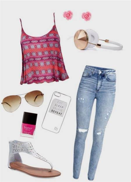 casual summer clothes for teenage girls