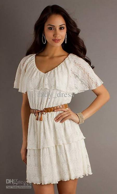 casual summer lace dress