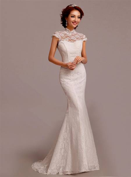 chinese white wedding dresses