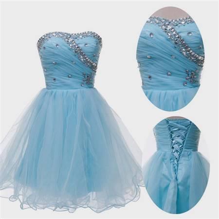 cocktail dress for js prom blue