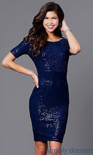 cocktail dresses for prom blue