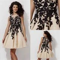 cocktail dresses with lace overlay