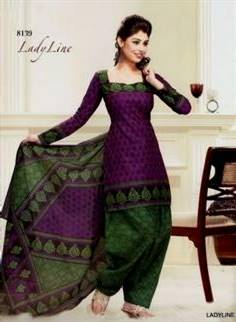 cotton dress patterns for girls indian