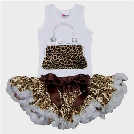 cute baby girl cheetah clothes | B2B Fashion