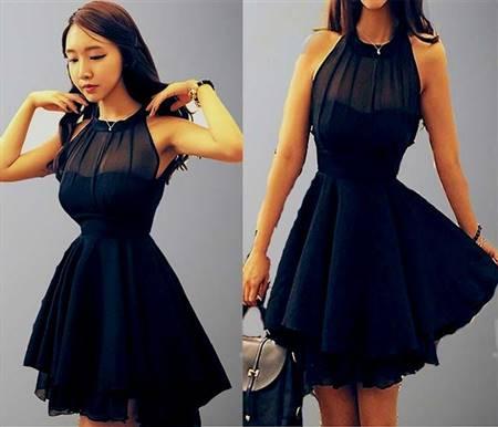 cute dark blue prom dresses