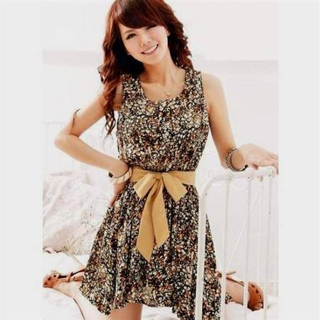 cute dresses with belts
