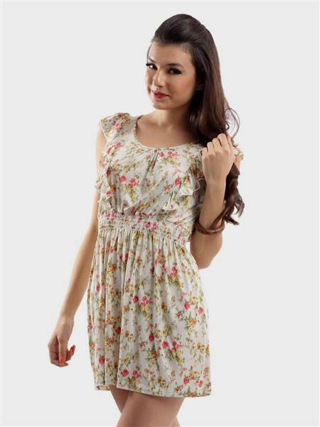cute floral dresses for teenage girls