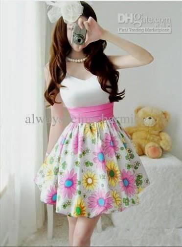 cute korean party dress